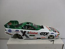 1/24 SCALE ACTION JOHN FORCE CASTROL GTX 2002 MUSTANG FUNNY CAR