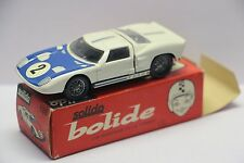 Solido Ref 146 Ford GT #2 Le Mans, White Mint in Box  France 1/43  Diecast