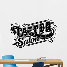 Tattoo Studio Wall Decal Machine Salon Poster Vinyl Sticker Decor Mural 82bar