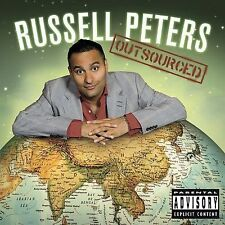CD Outsourced Russell Peters NEW SEALED Jewel