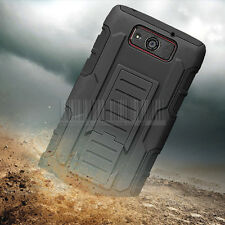For Motorola Droid Ultra/Maxx XT1080 Rugged Armor Hard Cover Case Hybrid Holster