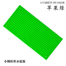 x4 NEW for Lego Green Base plate Base board figure Brick Building 16 x 32 Dots