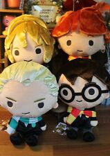 4PCS 30cm Harry Potter Hermione Malfoy Ron Soft Stuffed Plush Toy Doll Kid Gift