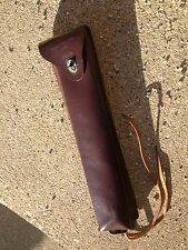 WWII USGI CASE CARRYING M23 ARTILLERY TOOL CASE leather u s army