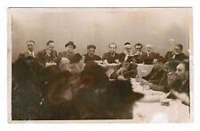 JUDAICA JEWISH REAL PHOTO POSTCARD SEPHARDIC CHIEF RABBI BEN ZION MEIR HAI UZIEL