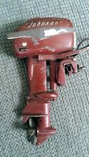 1950's JOHNSON K&O 30HP SEA HORSE ELECTRIC TOY BOAT OUTBOARD MOTOR