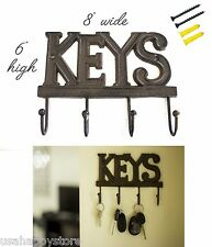 Wall Mount Key Holder Hanger Hook Organizer Storage Home Office Decor Hanging
