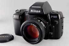 =N.Mint+ Nikon F-801 Body + AF Nikkor 50mm f/1.4 D Lens + Manual from Japan #l23
