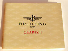 BREITLING COLT QUARTZ 1 ANLEITUNG INSTRUCTIONS QUARTZ 1 A29