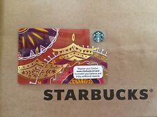 2016 India New and Rare Starbucks card Diwali #1