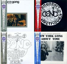 GONG Japan MINI LP 4 20bitK2-CD SET still sealed (Daevid Allen - Gilli Smyth)