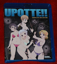 Upotte!!: Complete Collection Blu-ray 2-Disc Set SENTAI ANIME LOT + OVA