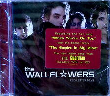 THE WALLFLOWERS - RED LETTER DAY - INTERSCOPE CD + HYPE STICKER - SEALED !!!