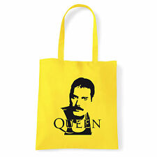 Art T-shirt, Borsa shoulder Queen Freddy Mercury, Giallo Shopper, Mare