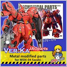 JAOparts Metal Modified parts set for Bandai MG 1/100 MSN-04 Sazabi Gundam