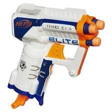 NERF N-STRIKE ELITE TRIAD EX-3 BLASTER TOY GUN - shoots up to 90 feet