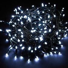 WHITE CHASER 400 LED FAIRY STRING XMAS CHRISTMAS WEDDING PARTY LIGHTING