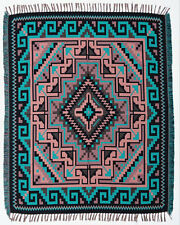 Throw Blanket Native American Southwest Style High Quality Ultra Soft 4' x 5'