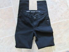 womens jeans old navy size 0 super skinny mid rise black jack 26 x 30 cute #737s