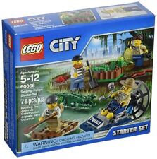 LEGO 60065 & 60066 - City: Police - Police ATV Patrol & Swamp Police Starter Set