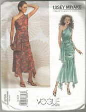 Vogue Sewing Pattern 2753, Issey Miyake Top and Skirt, Size 8 - 12, Uncut