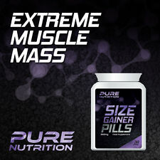 PURE NUTRITION SIZE GAINER PILLS  WEIGHT GAINER PILL GET BIGGER MUSCLES BULKING