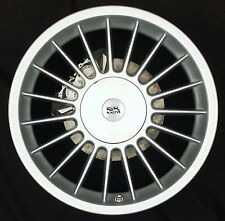 BK171 7.5X17 4X100 BMW ALPINA STYLE E30 FITMENT 4X100 19 SPOKE ALLOY WHEELS