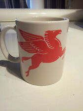 Mobil 1 Horse Gas sign COFFEE MUG - collectable mobil, phillips 66, RUSTY GOLD