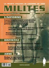 MILITES n14 - rivista militaria magazine Deutches Rotes Kreuz Rolle Estland Ruby