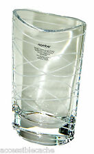 Nambe Full-lead Crystal Small Pocket Vase, Clear 8""