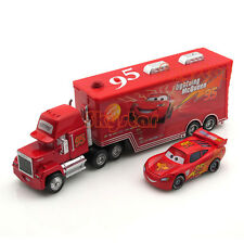 Disney Pixar Cars NO.95 Lightning McQueen et Mack Superliner Truck 2-Pack Toys