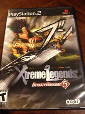 Dynasty Warriors 5: Xtreme Legends (Sony PlayStation 2, 2005) Complete