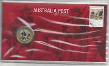 Australia FDC 2009 25th March 2009 200 Years of Australia Post PNC