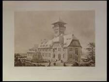 HOTEL RESTAURANT, ZURICH - 1910 - PLANCHE ARCHITECTURE - EMILE STAEHLI
