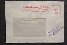 DDR Firmen Stempel - robotron Magdeburg - Brief Freistempel /S6