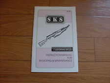 SKS RIFLE SHOOTING AND MAINTENANCE HANDBOOK