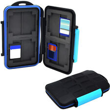 Memory Card Case Holder Plastic for 8 x SDHC Cards MC-SD8 Waterproof Anti-shock