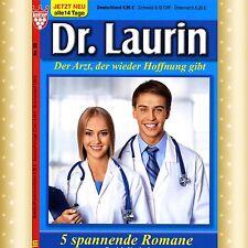 NEU * 5 Arztromane DR. LAURIN 142 bis 146 u.a. DIE ÄRZTIN UND DER BETRÜGER