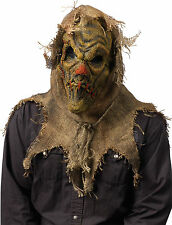 ADULT NATURAL SCARECROW LATEX BURLAP MASK COSTUME FW93203N