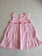 Baby Girls Clothes Newborn - Lovely Pink  Dress   - We Combine Postage