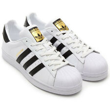 Adidas White Superstar with box Size 42 UK/IND 8