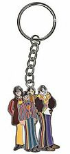 Beatles Cartoon Band Metal Keyring    (py)