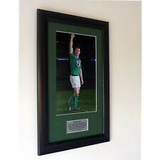 Brian O'Driscoll – Farewell Framed Tribute Presentation