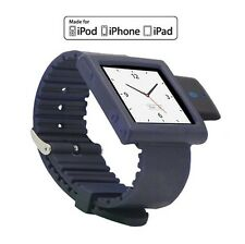 KOKKIA i10sWatch (Navy Blue) Bluetooth iPod Transmitter iPod Nano Watch