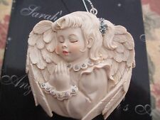 SARAH'S ANGELS  ~ GIRL FRAME ~ HINGED ORNAMENT #30884