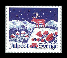 Sweden Stamp, 2013 SWE1314 Christmas Night