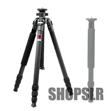 "Horusbennu C-2840V Carbon Tripod(64"") w/ carrying case for Canon Nikon Sony"
