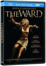 John Carpenter's The Ward (Blu-ray/DVD) Amber Heard, Mamie Gummer  NEW