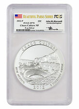 2012-P 25c 5 oz Silver ATB Beautiful Parks Chaco PCGS SP70 (Mercanti) SKU44650