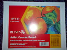 REEVES ARTIST 10x8 INCHES PAINTING CANVAS BOARD - BRAND NEW